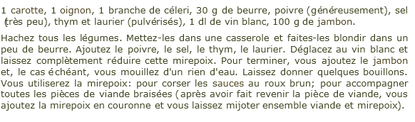 recette_mirepoix