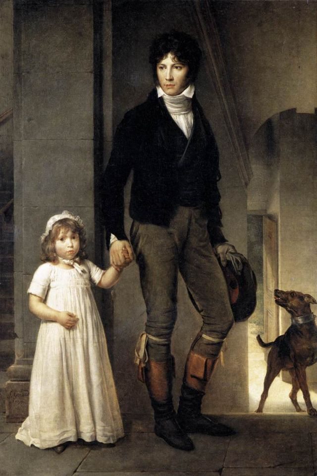 640px-GERARD_Francois_Jean_Baptist_Isabey_Miniaturist_With_His_Daughter