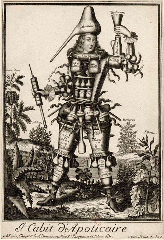 Nicolas-Larmessin-Costumes-Grotesques-Habit-metier-60