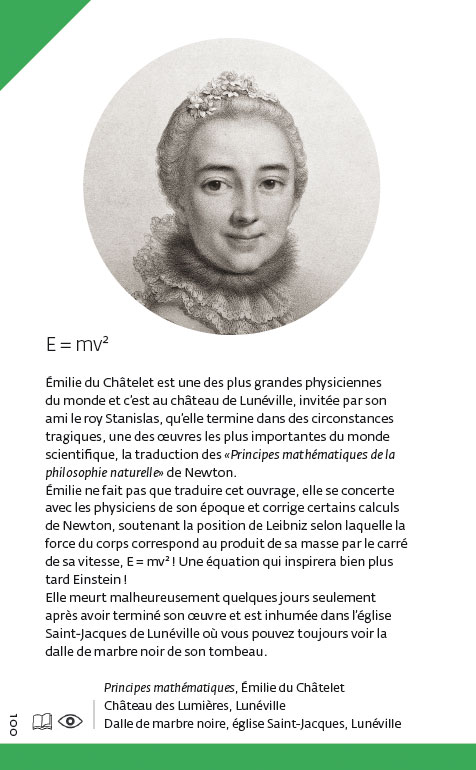 emilie du chatelet essay Emilie la marquise du chatelet was a sexy french brain-powered phenom of the enlightenment she was a tour de force of a woman a physicist at a time before there.