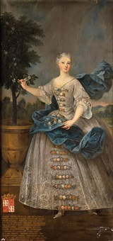 pierre-gobert-portrait-danne-marguerite-de-beauvau-princesse-de-lixheim