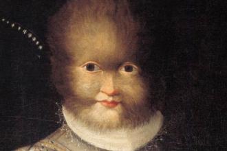 Lavinia Fontana - Portrait of Antoinetta Gonzales 1594-1595